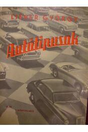 Autótípusok (1958) - Régikönyvek