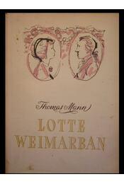 Lotte Weimarban - Régikönyvek