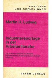 Industriereportage in der Arbeiterliteratur - LUDWIG, MARTIN H, - Régikönyvek