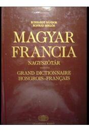 Magyar-Francia nagyszótár - Régikönyvek