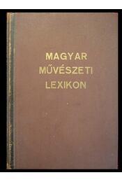 Magyar művészeti lexikon - Régikönyvek