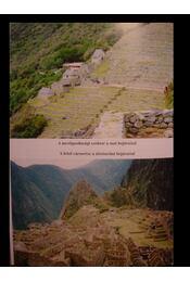 Machu Picchu - Régikönyvek