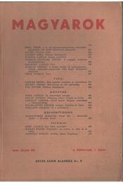 Magyarok II. évf. 7. szám 1946. július - Juhász Géza - Régikönyvek