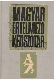 Magyar értelmező kéziszótár - Régikönyvek