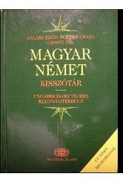 Magyar-Német kisszótár - Régikönyvek