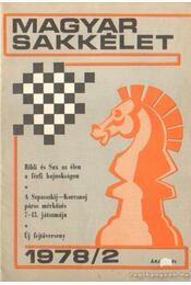Magyar Sakkélet 1978. év (hiányos) - Régikönyvek