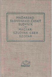 Magyar-szlovák-cseh szótár - Régikönyvek