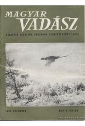 Magyar Vadász - 1968 december - Régikönyvek