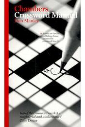 Chambers Crossword Manual - MANLEY, DON - Régikönyvek