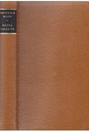 Ronda tanár úr - Mann, Heinrich - Régikönyvek