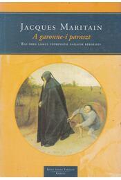 A garonne-i paraszt - Maritain, Jacques - Régikönyvek