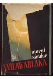 A világ ablaka - Marót Sándor - Régikönyvek