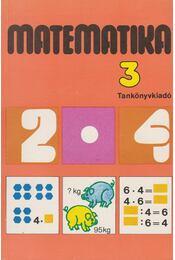 Matematika 3. - Régikönyvek
