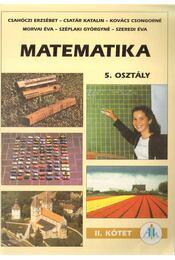 Matematika 5. osztály II. kötet - Régikönyvek