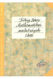Mathematikai mulatságok 1. füzet - Régikönyvek