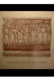 Mattioni Eszter kiállítása - Régikönyvek