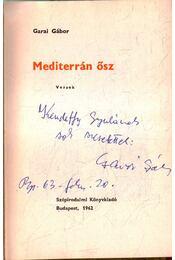Mediterrán ősz - Régikönyvek