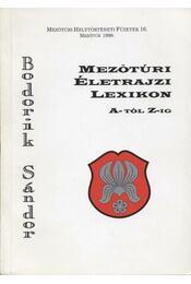 Mezőtúri életrajzi lexikon A-tól Z-ig - Régikönyvek