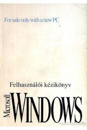 Microsoft Windows 3.1 Felhasználói kézikönyv - Régikönyvek