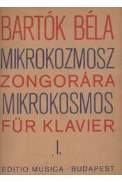 Mikrokozmosz zongorára I. - Régikönyvek