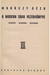 A modern sakk vezérkönyve - Régikönyvek