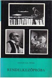 Rendelkezőpróba - Molnár Gál Péter - Régikönyvek