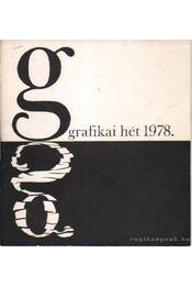 Grafikai hét 1978. május 18-25. - Molnár István - Régikönyvek