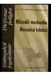 Műszaki mechanika - Régikönyvek
