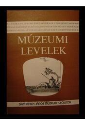 Múzeumi levelek 55-56. szám - Régikönyvek