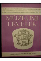 Múzeumi levelek 31-32. - Régikönyvek