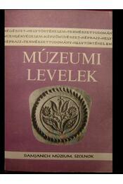 Múzeumi Levelek 59-60. szám - Régikönyvek