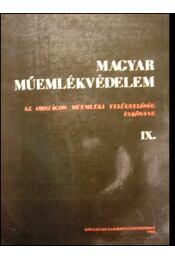 Magyar Műemlékvédelem IX. - Régikönyvek
