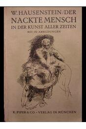 Der nackte Mensch in der Kunst aller Zeiten - Régikönyvek