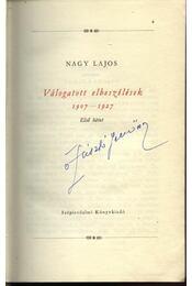 Válogatott elbeszélések (1907-1927, 1928-1937) I-II. kötet - Nagy Lajos - Régikönyvek