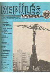 Repülés, ejtőernyőzés 1980., 1981. (teljes) - Nagyváradi Sándor - Régikönyvek