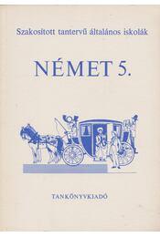 Német 5. - Régikönyvek