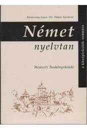 Német nyelvtan - Régikönyvek