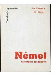 Német társalgási zsebkönyv - Régikönyvek