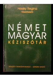 Német-magyar kéziszótár - Régikönyvek