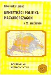 Nemzetiségi politika Magyarországon a 20. században - Régikönyvek
