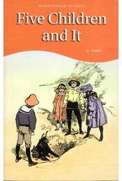 Five Children and It - Nesbit, Edith, Mowat, Diane - Régikönyvek