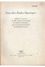Zur Klassenpolitik des Habsburgerabsolutismus in Ungarn in den sechziger Jahren des 18. jahrhunderts - Régikönyvek