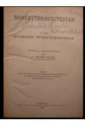 Növénytermesztéstan - Régikönyvek