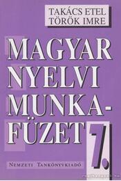Magyar nyelvi munkafüzet 7. - Régikönyvek
