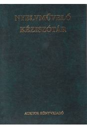 Nyelvművelő kéziszótár - Régikönyvek