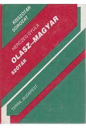 Olasz-magyar szótár - Régikönyvek