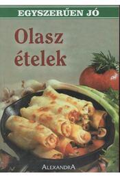 Olasz ételek - Régikönyvek