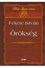 Örökség - Fekete István - Régikönyvek