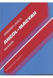 Angol-magyar kéziszótár - Országh László - Régikönyvek