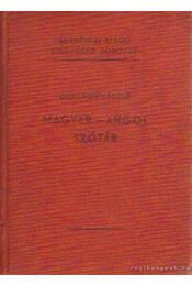 Magyar-angol szótár - Országh László - Régikönyvek